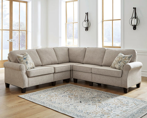 Alessio Signature Design by Ashley 4-Piece Sectional image