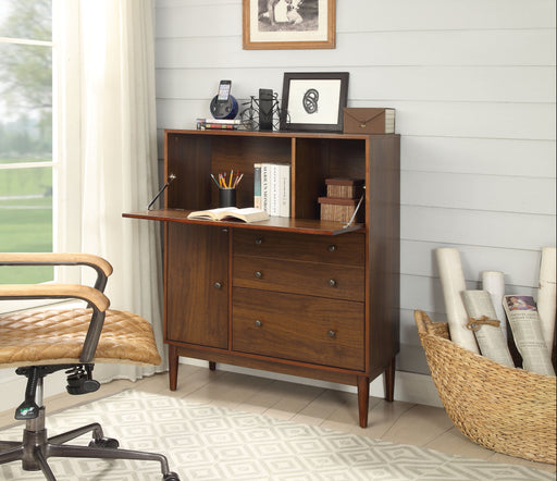Mullener Walnut Office Armoire image