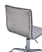 Alessio Silver PU & Chrome Office Chair image