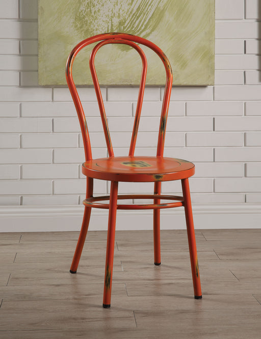 Jakia Antique Orange Side Chair image