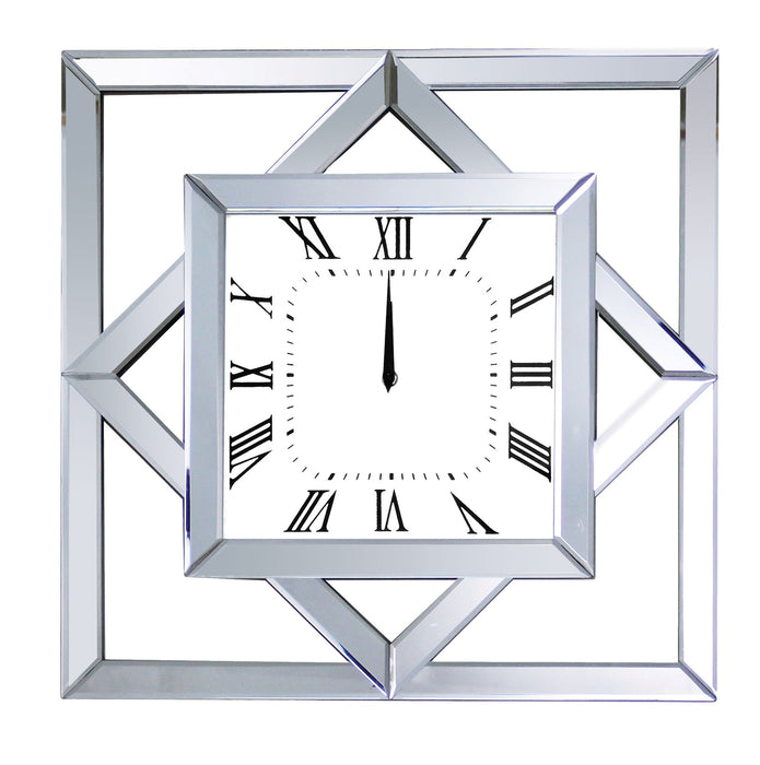 Mhina Mirrored Wall Clock image