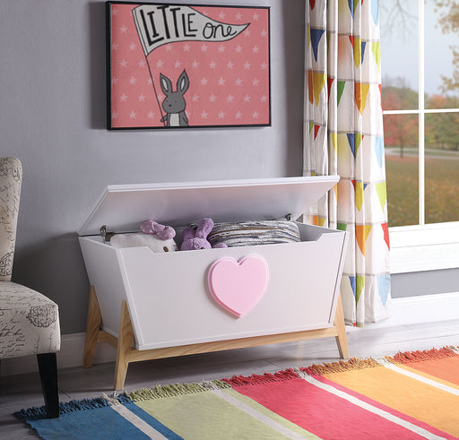Padma White & Pink Youth Chest image