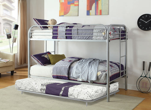 Opal Silver Twin/Twin Bunk Bed image