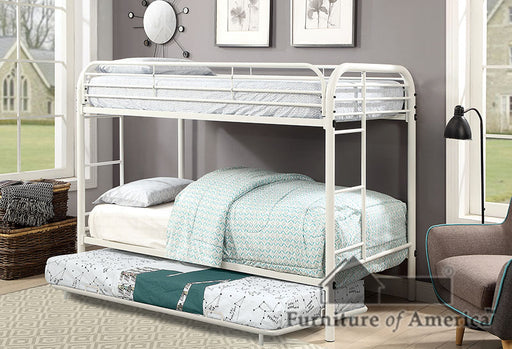 Opal White Twin/Twin Bunk Bed image