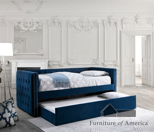 Susanna Navy Daybed w/ Trundle, Navy image