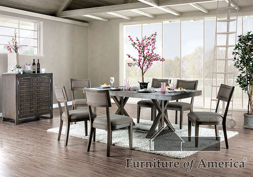 Leeds Gray Dining Table image