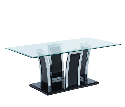 Staten Glossy Black/Chrome Coffee Table image