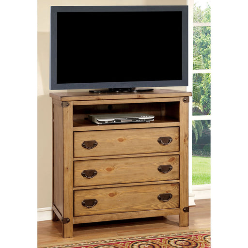 PIONEER Weathered Elm Media Chest image