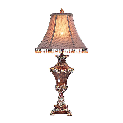 Selma Beige/Gold Table Lamp (2/CTN) image