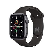 Load image into Gallery viewer, New Apple Watch SE (GPS, 44mm) - Space Gray Aluminum Case with Black Sport Band