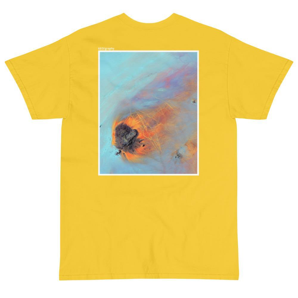 Re-Entry T-shirt, Yellow, Carto Clothing, Geography Collection