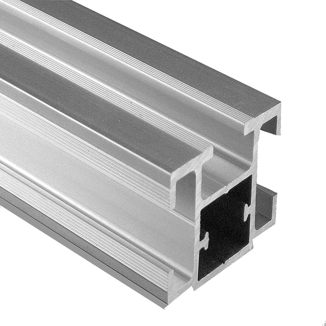 TS32 Package - 10 Aluminum and 10 White PVC Inserts Extrusions