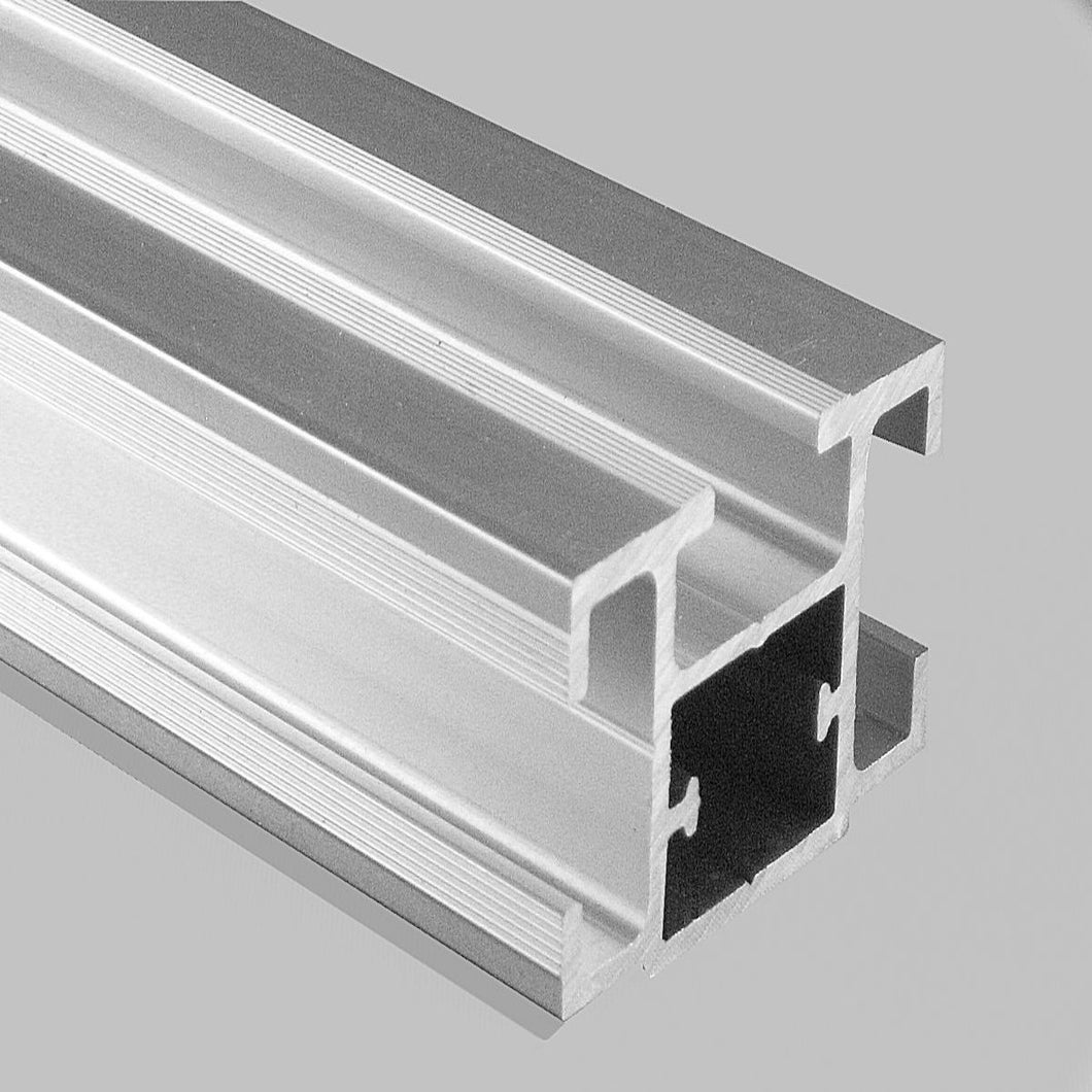 TS32 Package -   4 Aluminum and 4 White PVC Inserts Extrusions