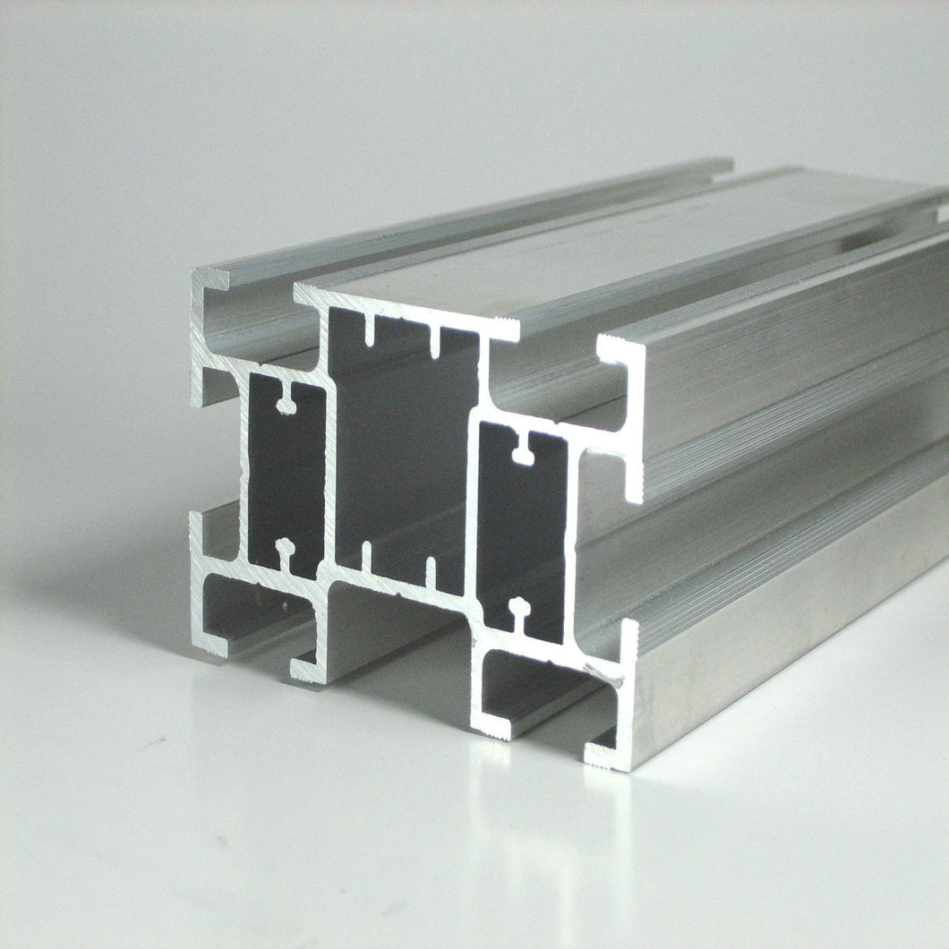 TS44 Package -  8 Aluminum and 8 Clear PVC Inserts Extrusions