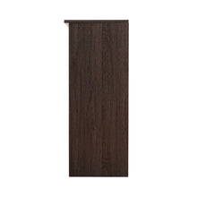 Load image into Gallery viewer, Duet-6014 Engineered Wood Bookcase - Dark Brown & Sonoma Oak