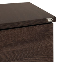 Load image into Gallery viewer, Muo-6010 Engineered Wood Chest Of Drawers - Dark Brown