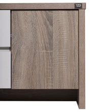 Load image into Gallery viewer, Fusion TV Unit in Sonoma Oak & High Gloss White Colour