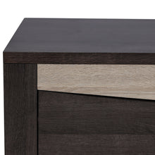 Load image into Gallery viewer, Fusion TV Unit in Charcoal Oak & Sonoma Oak Colour