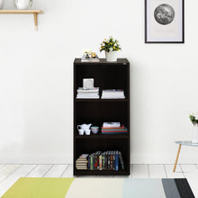 Load image into Gallery viewer, Muo-6018 Engineered Wood Bookcase - Dark Brown