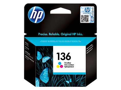 HP CARTRIDGE 136 TRI-COLOR