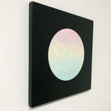 Softest Rainbow Moon ~ Painting