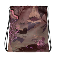 Witch's Ladder Drawstring backpack