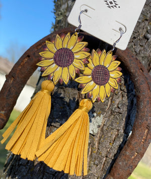 Sunflower Tassel