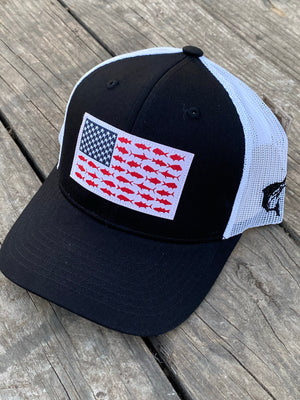 Fish Flag Ball Cap