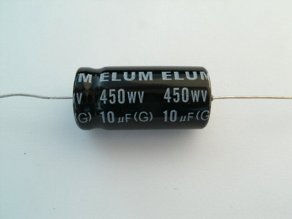 10uf 450v Electrolytic Capacitor Axial Leads Tube Audio