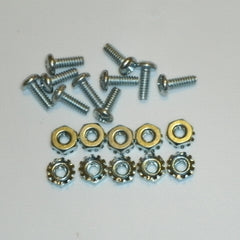 Tube socket mounting hardware, miniature sockets