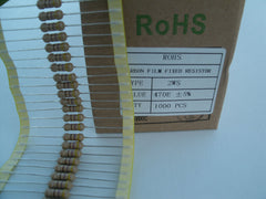 2W Carbon film resistor, small size body