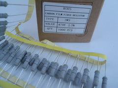 3W Flameproof carbon film resistors, small size body