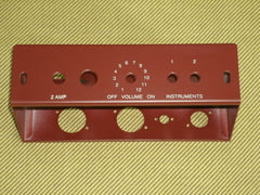 5F1 Tweed Champ Chassis, Oxblood Powder Coat, Satin Finish