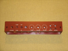 5E3 Tweed Deluxe Chassis, Oxblood Powdercoat Satin Finish