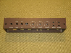 5E3 Tweed Deluxe Chassis, Vintage Brown Powder Coat,  Satin Finish