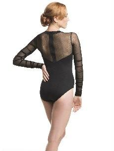 AW1011ME Blaze With Mesh Leotard