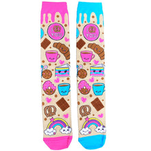 Load image into Gallery viewer, Mad Mia - Chocolate Socks