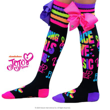 Load image into Gallery viewer, Mad Mia - Peace Love Music Socks