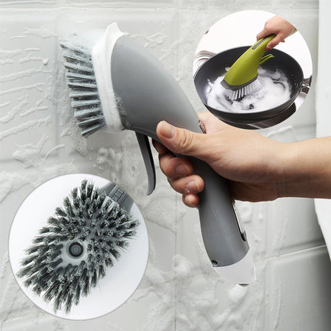 Large Refillable Liquid Cleaning Brush