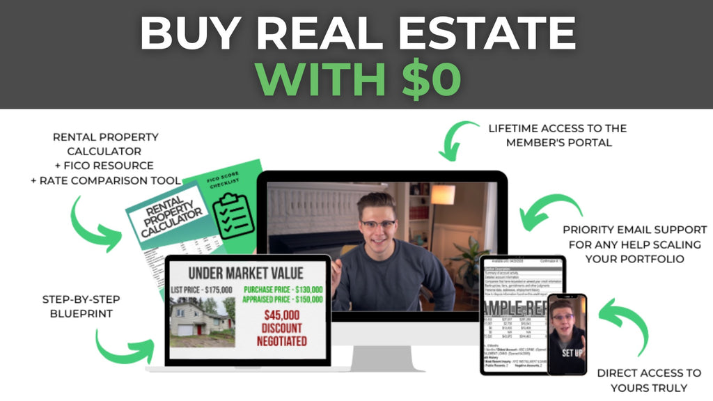 Buying Real Estate W/ $0
