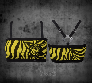 Open image in slideshow, PRE-ORDER Bandeau Zebra