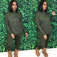 Sweater Weather Set | Olive