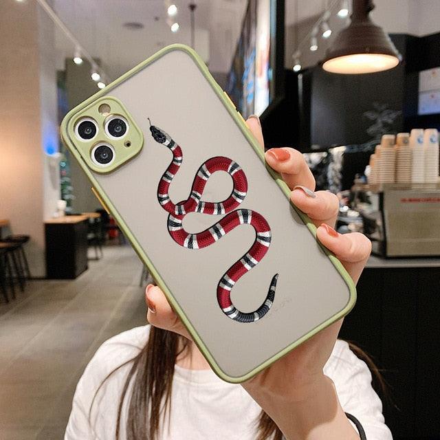 Luxury snake case for IPhone