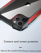 Load image into Gallery viewer, Funda hybrid Simple Metal Bumper para iPhone