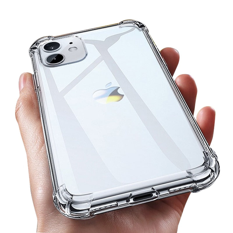 Funda transparente de alta calidad para iPhone