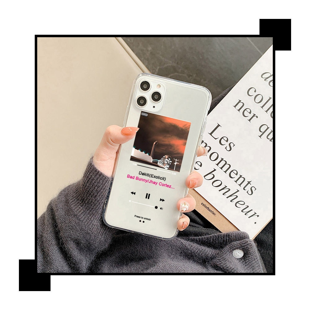 music-player case para iPhone