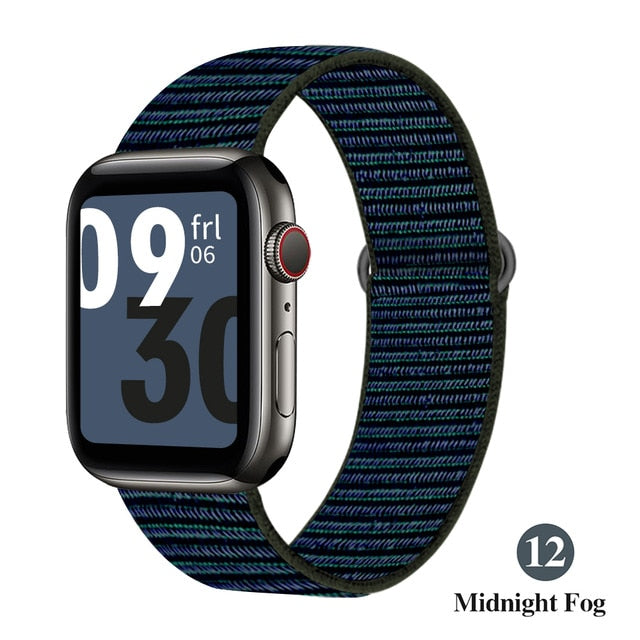 Nylon Strap Band For Apple Watch