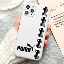 Load image into Gallery viewer, White-puma case for iPhone