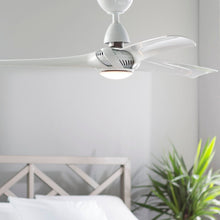 "Load image into Gallery viewer, 52"" Cairo 3 - Blade LED Propeller Ceiling Fan with Remote Control and Light Kit Included"