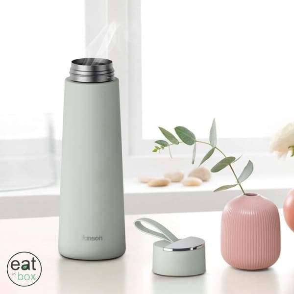 Bouteille Isotherme 350ml Thermos Verte